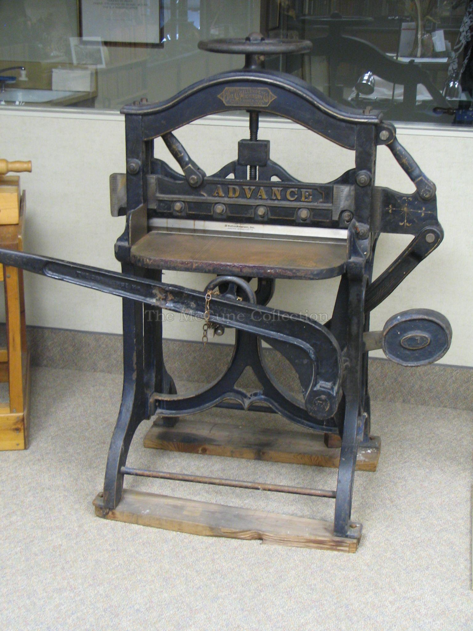 challenge paper cutter Our current inventory of used paper cutters includes manual, electric, and hydraulic models.